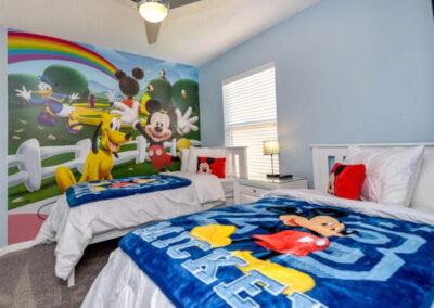 Bedroom #4 at Emerald Island Resort 13, Kissimmee