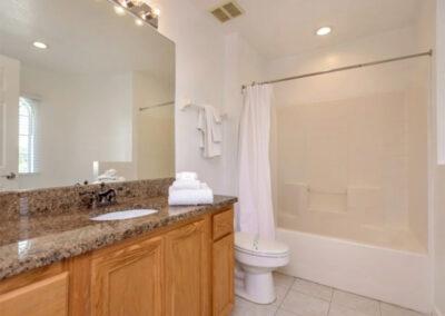 Bedroom #5 en-suite at Emerald Island Resort 13, Kissimmee