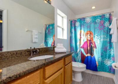 Bedroom #6 & #7 Jack 'n Jill en-suite at Emerald Island Resort 13, Kissimmee