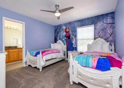 Bedroom #7 at Emerald Island Resort 13, Kissimmee