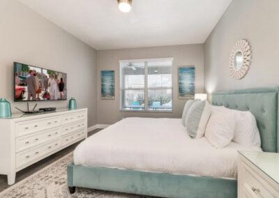 Bedroom #1 at Emerald Island Resort 18, Kissimmee