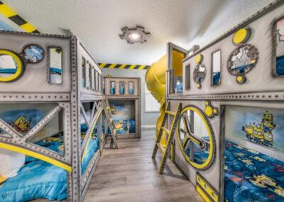 Bedroom #2 at Emerald Island Resort 18, Kissimmee