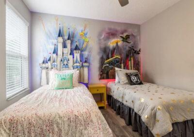 Bedroom #3 at Emerald Island Resort 18, Kissimmee