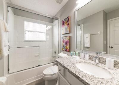 Bedroom #6 en-suite at Emerald Island Resort 18, Kissimmee