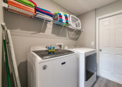 The laundry room at Emerald Island Resort 18, Kissimmee