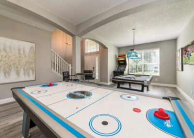The first games room at Emerald Island Resort 18, Kissimmee