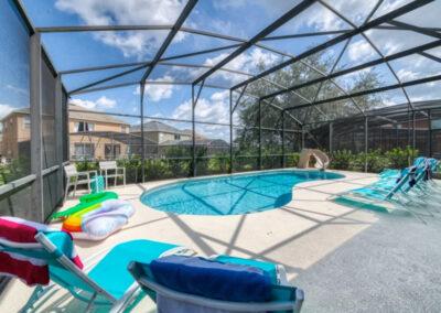 The swimming pool at Emerald Island Resort 18, Kissimmee