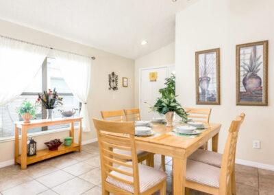 The dining area at Emerald Island Resort 25, Kissimmee, Orlando
