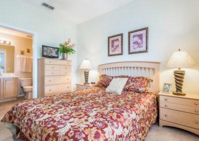 Bedroom #1 at Emerald Island Resort 25, Kissimmee, Orlando