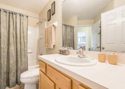 Bedroom #1 en-suite at Emerald Island Resort 25, Kissimmee, Orlando