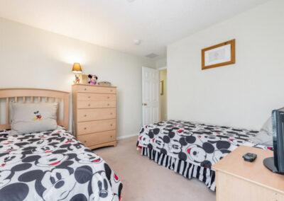 Bedroom #3 at Emerald Island Resort 25, Kissimmee, Orlando