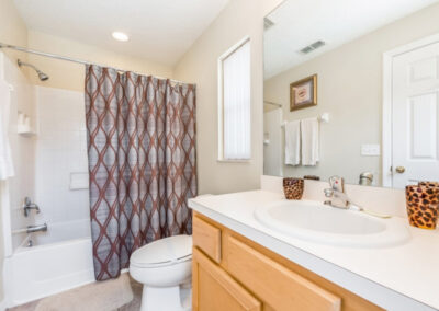 Bedroom #4 en-suite at Emerald Island Resort 25, Kissimmee, Orlando