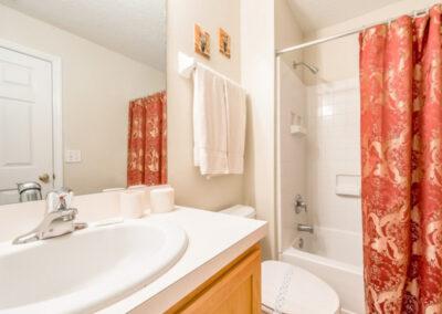 The bathroom at Emerald Island Resort 25, Kissimmee, Orlando