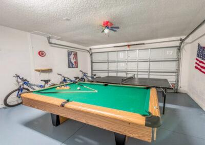 The games room at Emerald Island Resort 25, Kissimmee, Orlando