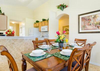The dining area at Emerald Island Resort 58, Kissimmee, Orlando