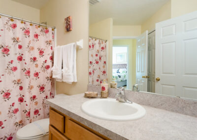 Bedroom #2 en-suite at Emerald Island Resort 58, Kissimmee, Orlando