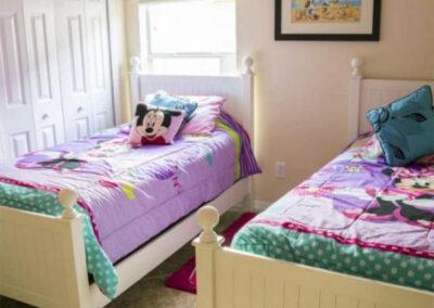 Bedroom #3 at Emerald Island Resort 58, Kissimmee, Orlando