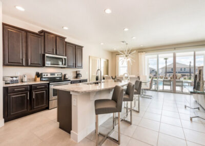 The kitchen at Encore Resort 394, Kissimmee