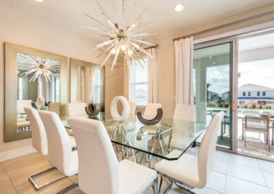 The dining area at Encore Resort 394, Kissimmee