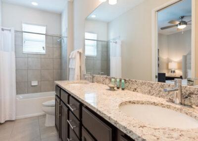 Bedroom #3 en-suite at Encore Resort 394, Kissimmee