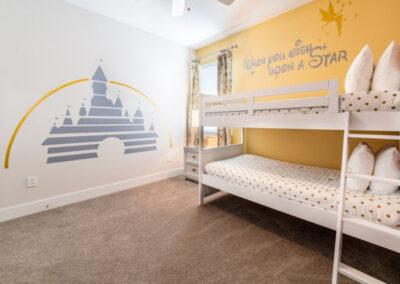 Bedroom #4 at Encore Resort 394, Kissimmee