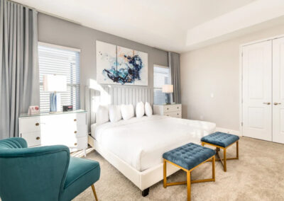 Bedroom #1 at Encore Resort 443, Kissimmee