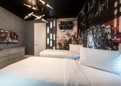 Bedroom #3 at Encore Resort 443, Kissimmee