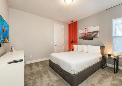 Bedroom #4 at Encore Resort 443, Kissimmee