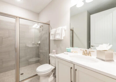 Bedroom #6 adjacent bathroom at Encore Resort 443, Kissimmee