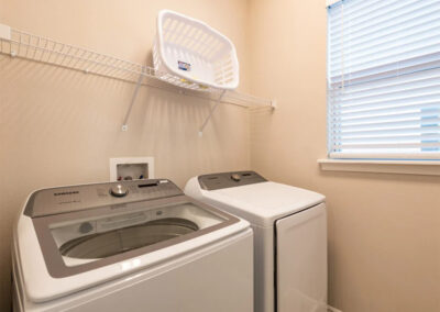 The laundry room at Encore Resort 443, Kissimmee