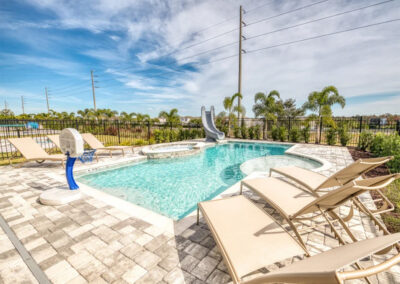 The swimming pool at Encore Resort 443, Kissimmee