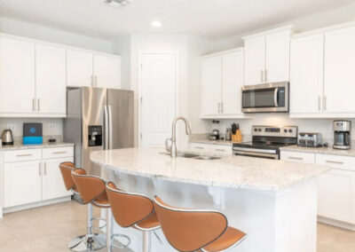 The kitchen at Encore Resort 550, Kissimmee