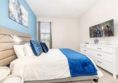 Bedroom #1 at Encore Resort 550, Kissimmee