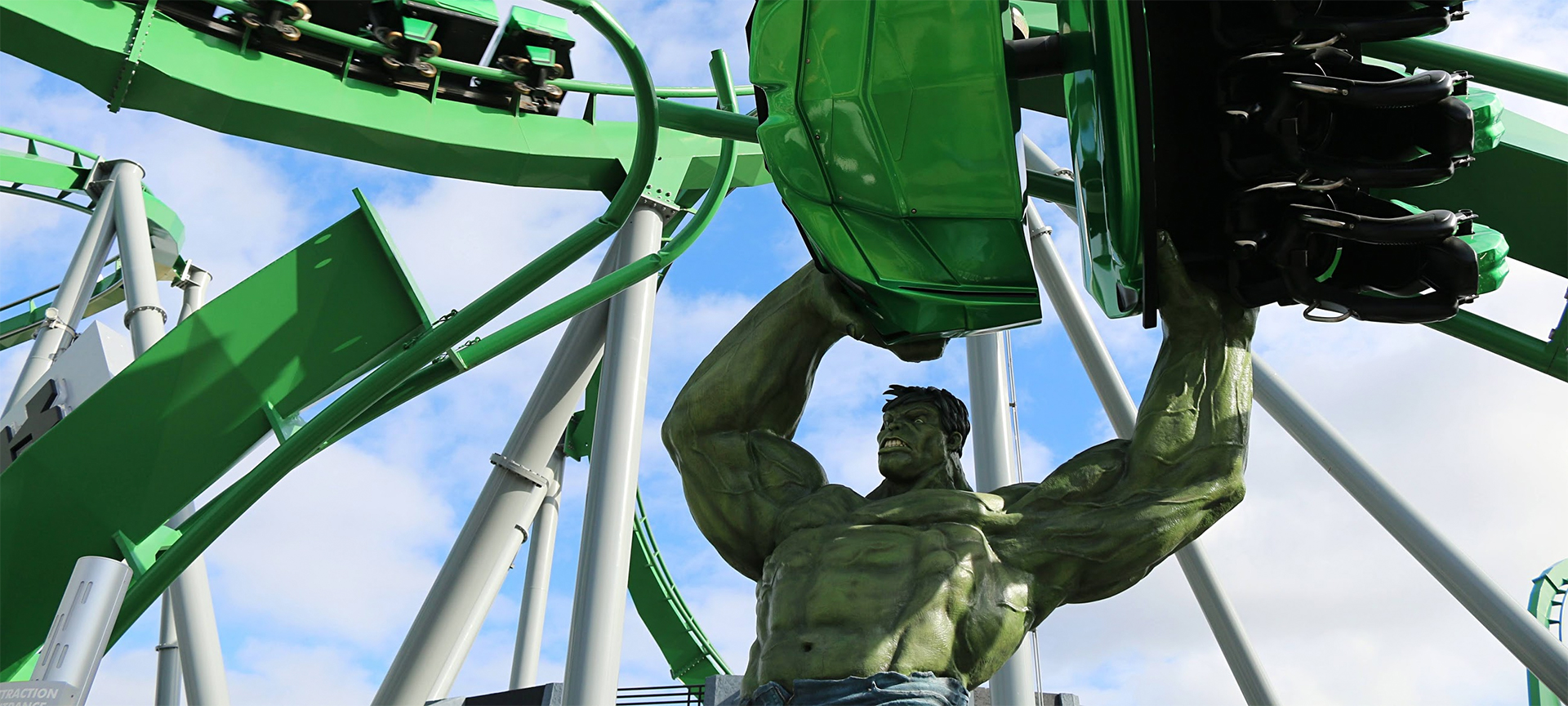 Universal Parks are the perfect choice if you are into thrill rides like we are; there are so many of them! At Universal Studios, the Hulk rollercoaster will make your head spin. You'll also feel like you're walking through different movie favorites, with something for everyone as their features span generations.
