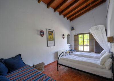 Bedroom #2 at Finca Lomas de Tienda, Villanueva de la Concepción