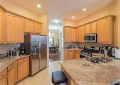The kitchen at Formosa Gardens 50, Kissimmee, Florida