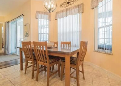 The second dining area at Formosa Gardens 50, Kissimmee, Florida