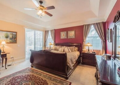Bedroom #1 at Formosa Gardens 50, Kissimmee, Florida