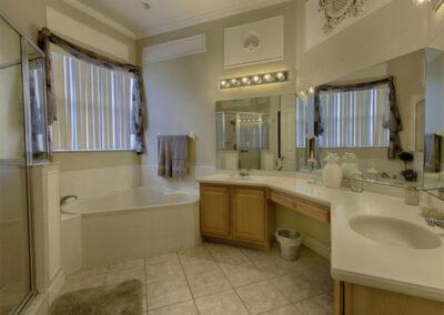 Bedroom #1 en-suite at Formosa Gardens 50, Kissimmee, Florida