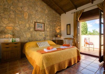 Bedroom #1 at Hacienda Los Olivos, Ronda