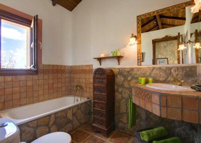 Bedroom #1 en-suite at Hacienda Los Olivos, Ronda