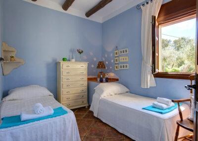 Bedroom #2 at Hacienda Los Olivos, Ronda