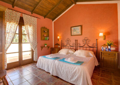 Bedroom #3 at Hacienda Los Olivos, Ronda