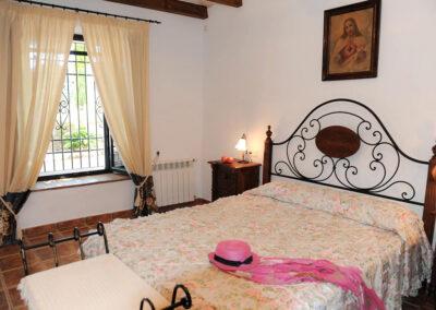Bedroom #1 at Huerta Atienza, Montecorto