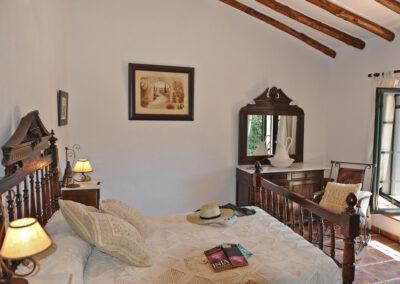 Bedroom #2 at Huerta Atienza, Montecorto