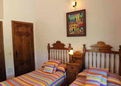 Bedroom #3 at Huerta Atienza, Montecorto