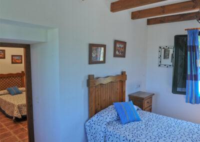 Bedroom #4 at Huerta Atienza, Montecorto