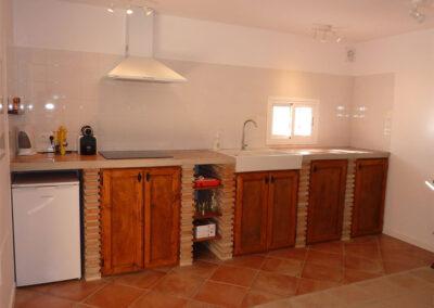 The kitchen of villa #3 at La Abadesa, Nueva Andalucía