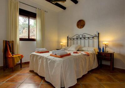Bedroom #1 at La Olgava, El Jaral