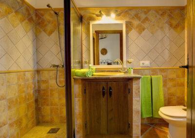 Bedroom #1 en-suite at La Olgava, El Jaral